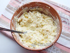 Начинка из сыра с чесноком