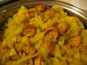 Рецепты солянки с сосисками