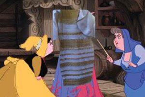 Синее или белое платье: в чем прикол