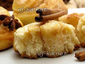 Дрожжевые булочки с корицей