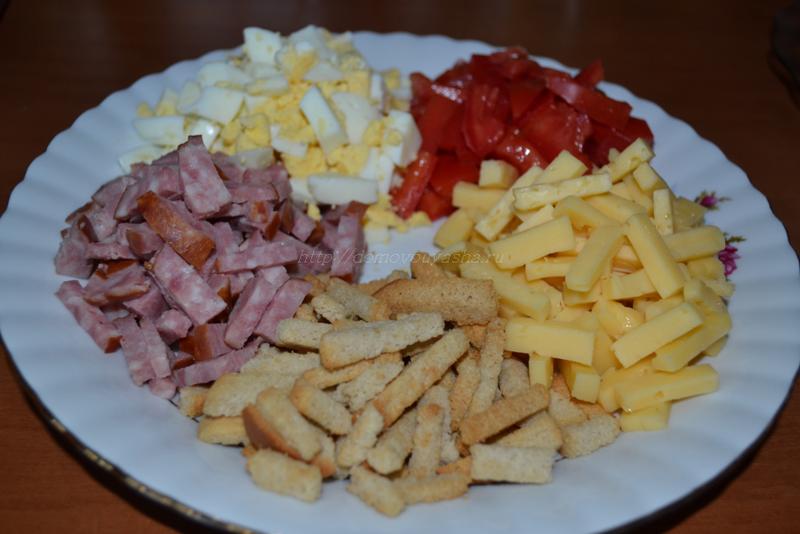 простые рецепты салатов.