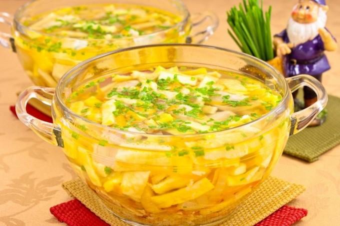 суп куриный с вермишелью и картофелем рецепт