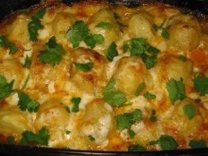 Запеченая картошка в духовке