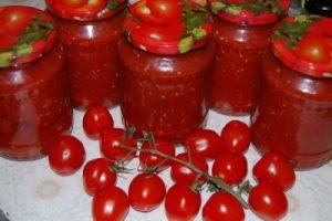 приготовление томатов в собственном соку