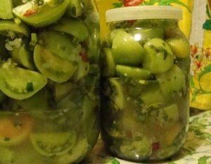 рецепты консервации зеленых помидоров