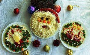 Салаты на Новый год 2016, простые и вкусные рецепты