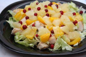 Салаты с курицей простые рецепты с фото