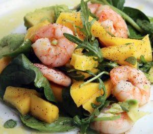 Салат с креветками, очень вкусный рецепт с фото