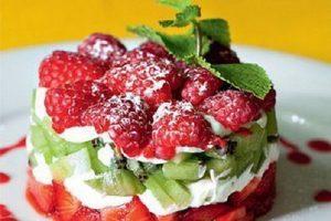 Фруктовые салаты рецепты с фото простые и вкусные