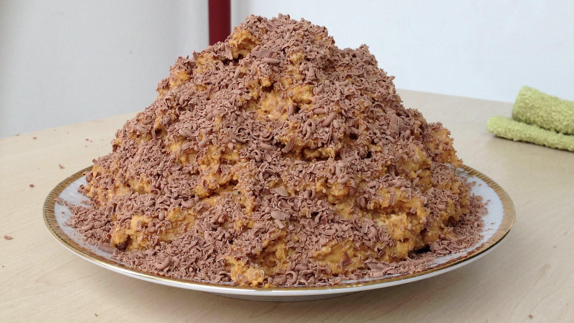 торт муравейник из печенья рецепт с фото пластика выглядят современно