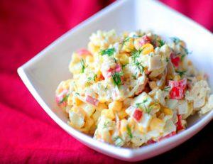 Салат из крабовых палочек: очень вкусный