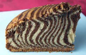 Пирог «Зебра» в домашних условиях