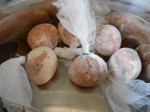 как делать мраморные яйца