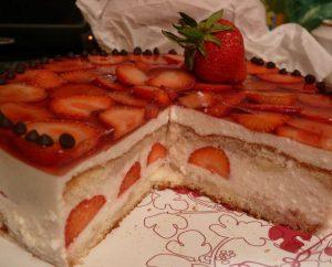Бисквитный торт пошагово в домашних условиях