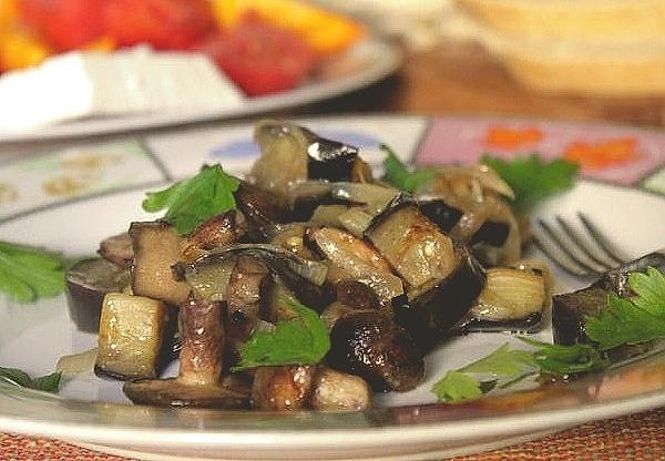 баклажан как приготовить быстро и вкусно закуску