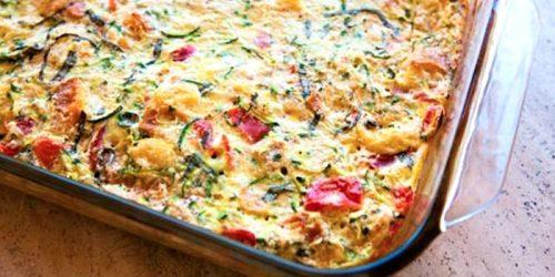Запеканка из кабачков и картофеля в духовке, рецепт с фото