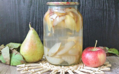 Компот из груш на зиму на 3 литровую банку рецепт
