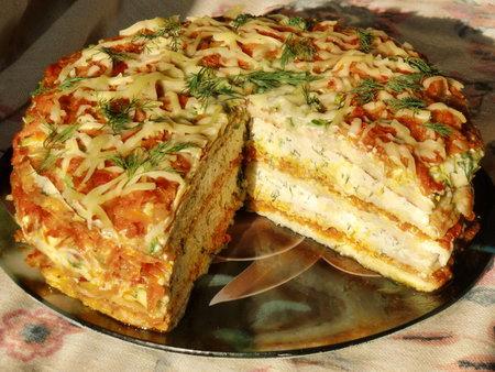 Торт из кабачков- быстро и вкусно готов