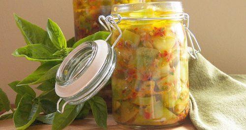 салат из зеленых помидор пальчики оближешь
