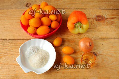 Ингредиенты для маринования помидоров черри