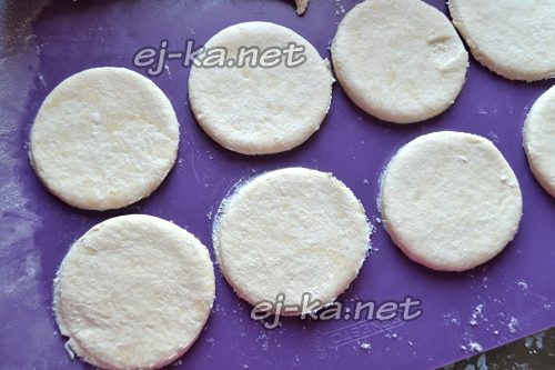 """Заготовки для печенья """"Поцелуйчики"""""""