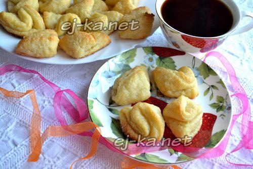 Творожное печенье «Поцелуйчики»