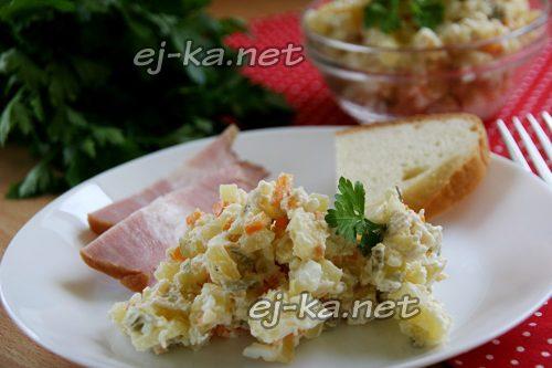 """Рецепт салата """"Оливье"""" с курицей"""