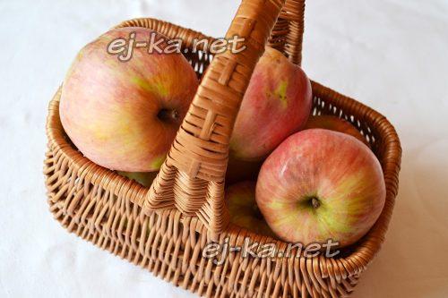 Подготовить яблоки для пюре