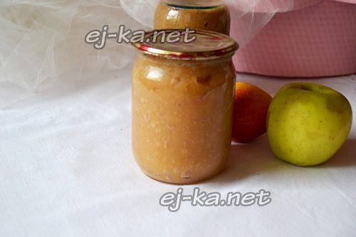 Яблочное пюре на зиму
