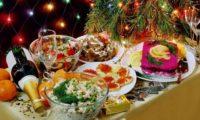 Блюда на Новый год как в СССР, фото
