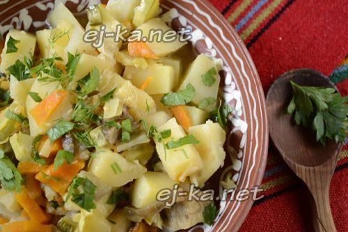 готовое овощное рагу