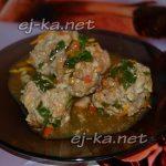 Тефтели с рисом в томатном соусе, пошагово