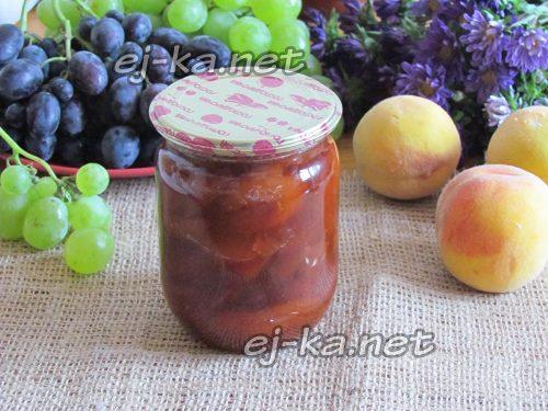 Варенье из персиков без косточек на зиму