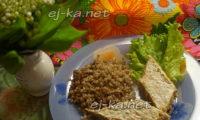 Запеканка из кабачков с фаршем в духовке