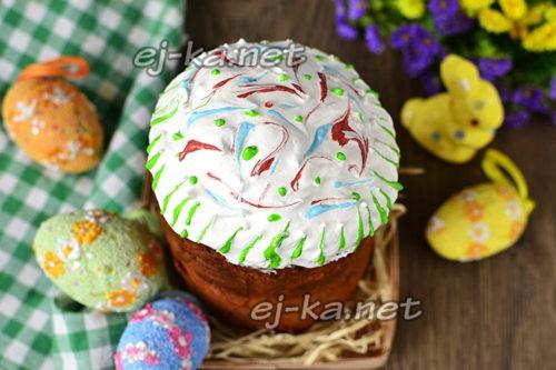 Пасхальный кекс готов