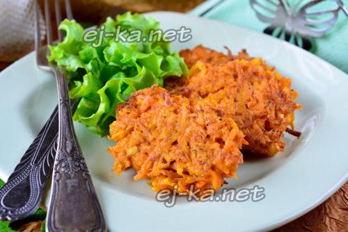 Морковные котлеты, рецепт с фото пошагово