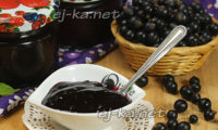 Желе из черной смородины