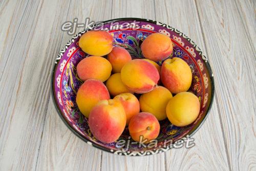 Мытье абрикосов