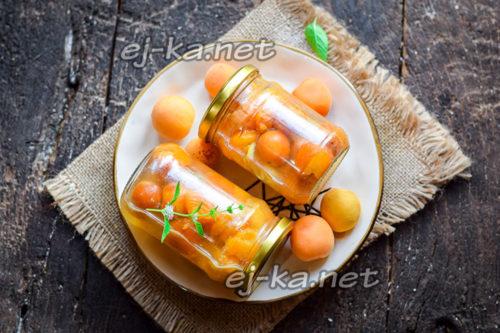 Варенье дольками из абрикосов