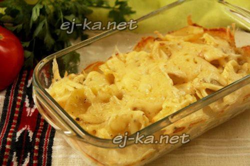 Готовый картофельный гратен