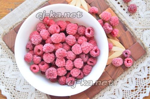 поместить ягоду в морозильник
