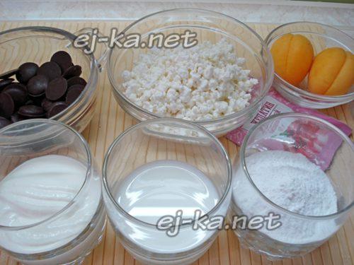 ингредиенты для мини тортика