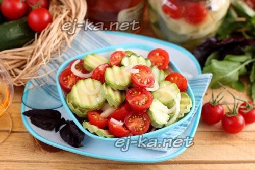 Быстрый салат на пикник