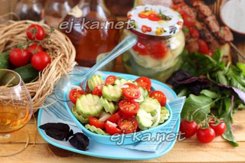 Простой салат и вкусный