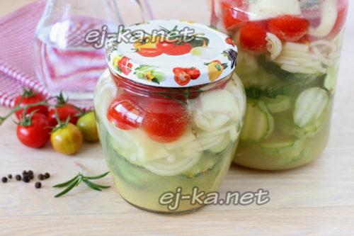 салат маринуется