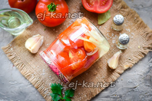 Рецепт помидор на зиму