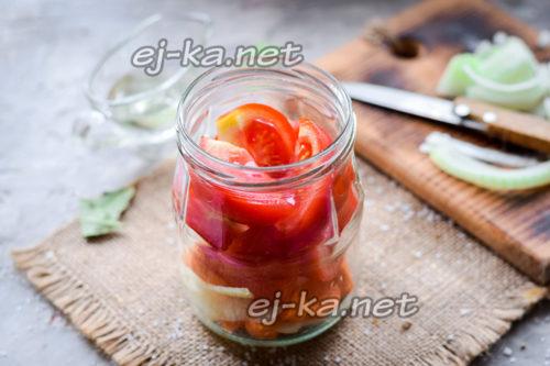 Добавление помидор