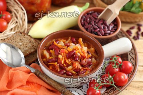 салат с овощами универсальный