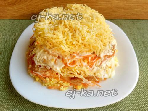 Сверху слой сыра