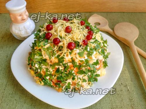 Пропитывание салата